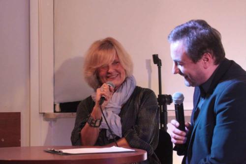 Justyna Holm w rozmowie ze Zbigniewem Kozłowskim